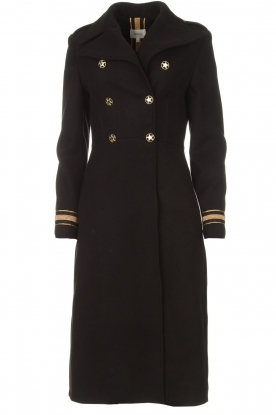 Kocca |  Trench coat Tiwum | black