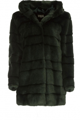 Kocca   Faux-fur jas Kimberly   groen