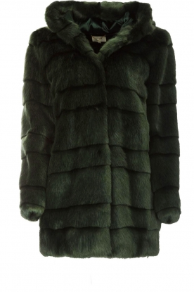 Kocca |  Faux-fur coat Kimberly | green