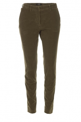 MASONS |  Chino pants New York Velvet | green