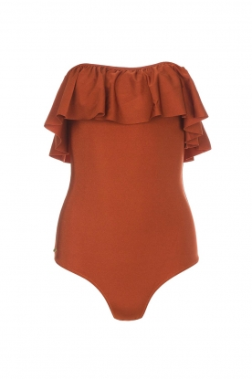 Love Stories |  Swimsuit Rosa | rust