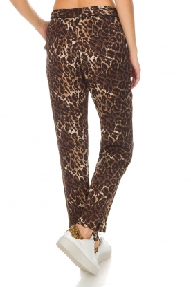 Munthe |  Pants Viool | animal print