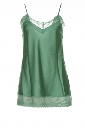 Atos Lombardini |  Silk top Mirella | green