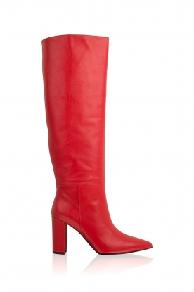 Atos Lombardini |  Leather boots Carli | red