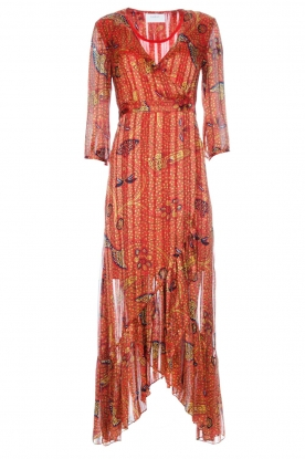 ba&sh |  Maxi dress Disy | orange