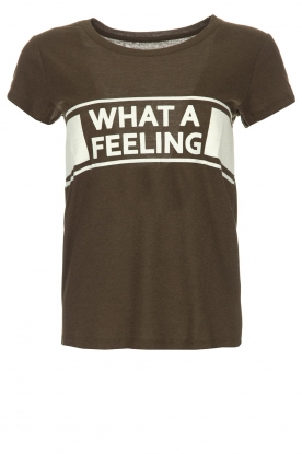 ba&sh | T-shirt What A Feeling | groen