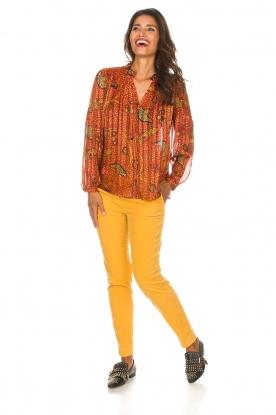 ba&sh | Blouse Danila | oranje