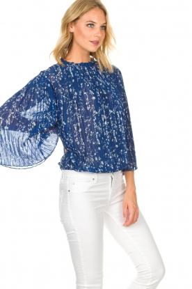 ba&sh | Top Siam | blauw