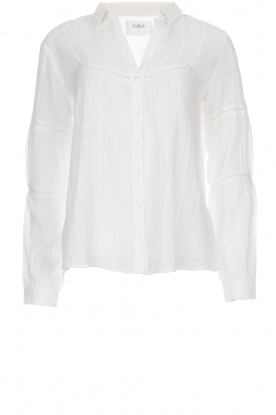 ba&sh | Blouse Vanda | wit