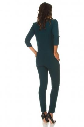 ba&sh | Jumpsuit met lace-up details Chiara | groen