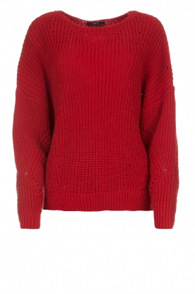 Set |  Sweater Medine | red