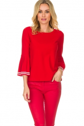 Set |  Sweater Nora | red
