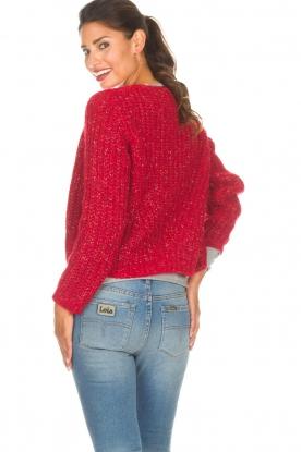 Set   Vest Sissi   rood