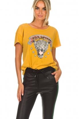 Set | T-shirt Wild Spirit | wit