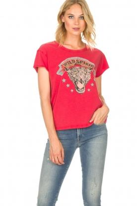 Set   T-shirt Wild Spirit   rood