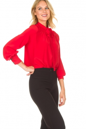 Set | Blouse Linn | rood