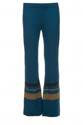 Rabens Saloner | Glitterbroek Mina | blauw