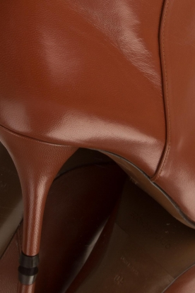 L'Autre Chose | Leren laarzen Solena | camel