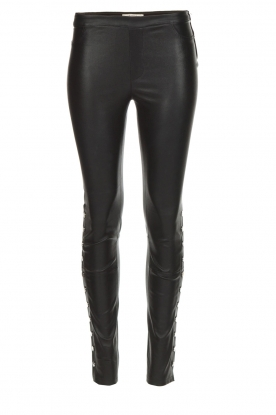 Dante 6 |  Leather legging Rockstar | black