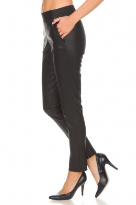 Dante 6 |  Leather pants Lebon | black