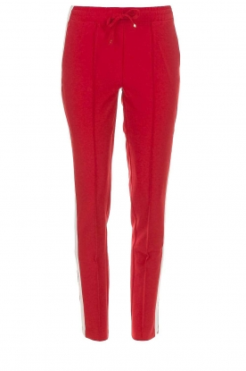 Dante 6 |  Pants with side stripe Cody | red