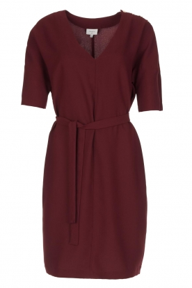 Dante 6 |  Dress with slit in the sleeves Stello | bordeaux