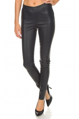 Dante 6 |  Leather leggings Campbell | blue