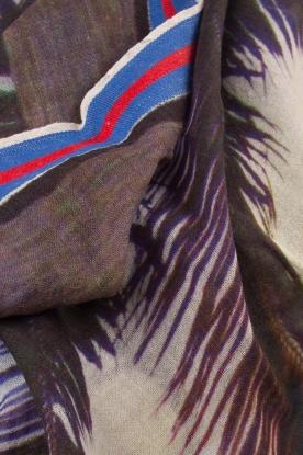 Becksöndergaard   Sjaal Nero   blauw