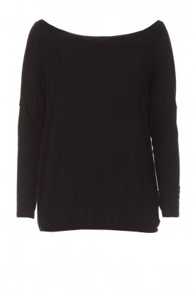BLAUMAX |  Top Santiago | black