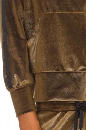BLAUMAX | Fluwelen vest Mira | bruin