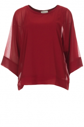 BLAUMAX |  Top Priscilla | red