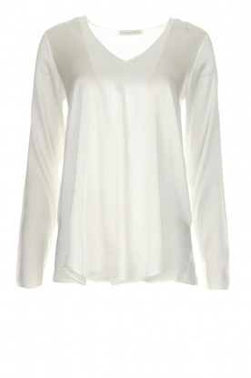 Blaumax | Silk top Lorena | natural