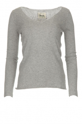 BLAUMAX |  Sweater Fedder | light grey
