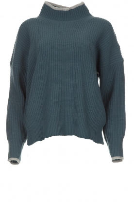 BLAUMAX |  Sweater Gloria | blue