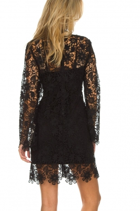 Hale Bob | Kanten jurk Erina | zwart