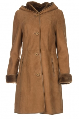 Arma | Lammy coat Posh | camel
