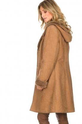 Arma | Lammy coat Posh | camel