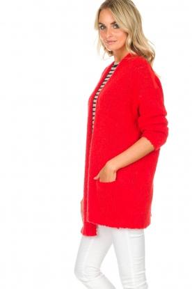 American Vintage | Vest Boolder | rood