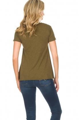 American Vintage | T-shirt Jacksonville | groen