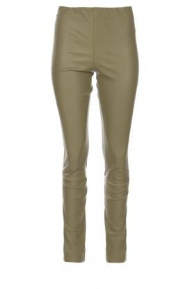 By Malene Birger |  Lamb leather legging Elanasio | green