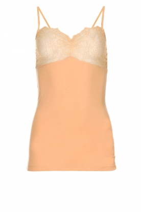 By Malene Birger | Top met kant Wasikio | nude