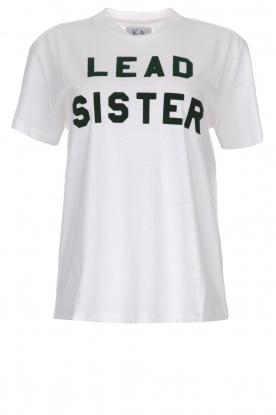 Zoe Karssen   Top Lead Sister   wit
