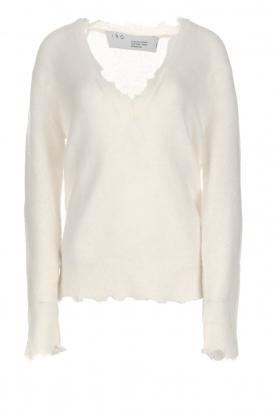 IRO | Wollen trui Belen | wit