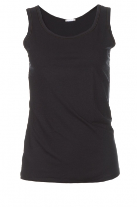 Hanro |  Soft tight top Christine | black