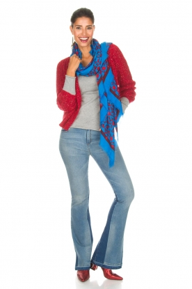 Lois Jeans | Flared jeans Ravalnes | blauw