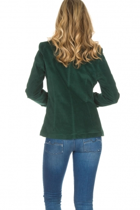 Lois Jeans   Fluwelen blazer Telma   groen