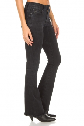Lois Jeans | Flared jeans Raval Edge L34 | zwart