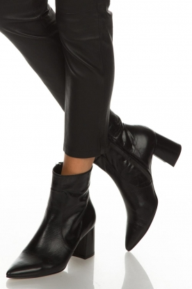 Noe |  Leather ankle boots Nippie | black