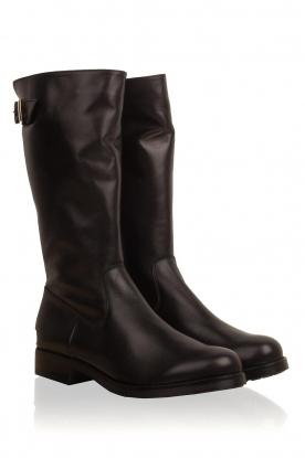 Noe | Leren laarzen Nuca | zwart