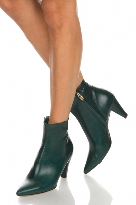 Noe |  Leather ankle boots Forest | green